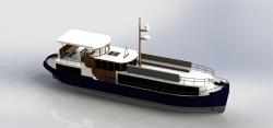 مدل آماده قایق در سالیدورک